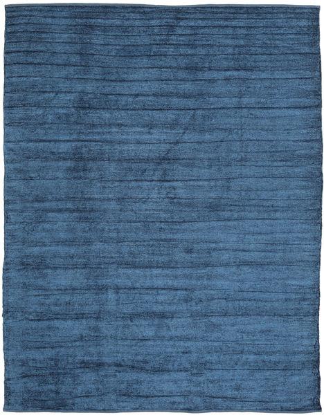 Kilim Chenilla - Azul De Medianoche Alfombra 240X300 Oriental Tejida A Mano Azul Oscuro/Azul ( India)
