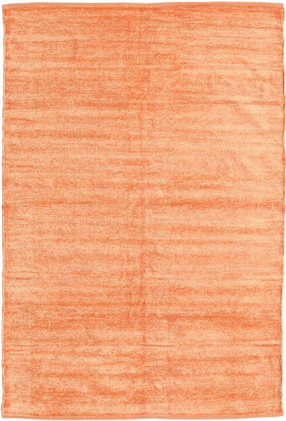 Kilim Chenille - Peach Orange rug CVD17131