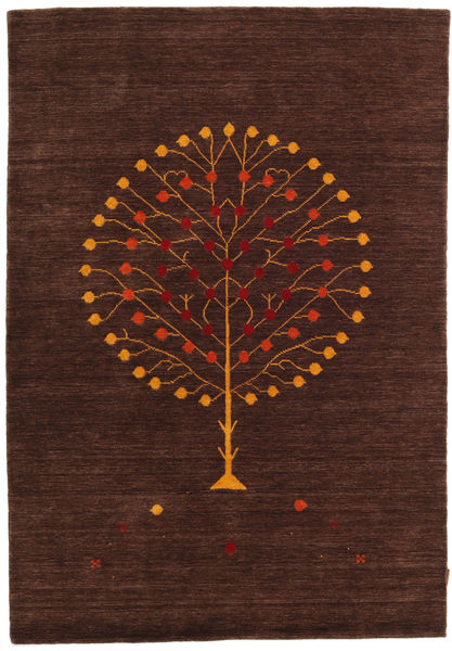 Loribaf Loom Designer - Brown Rug 160X230 Authentic  Modern Handknotted Dark Red/Dark Brown (Wool, India)