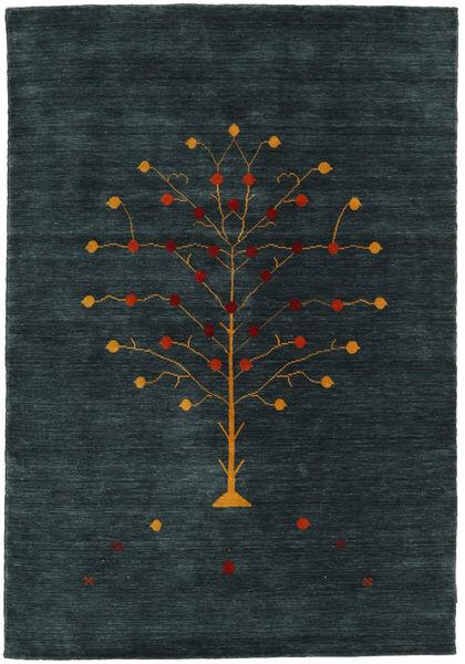Loribaf ルーム Designer - Petrol 絨毯 160X230 モダン 手織り 紺色の (ウール, インド)