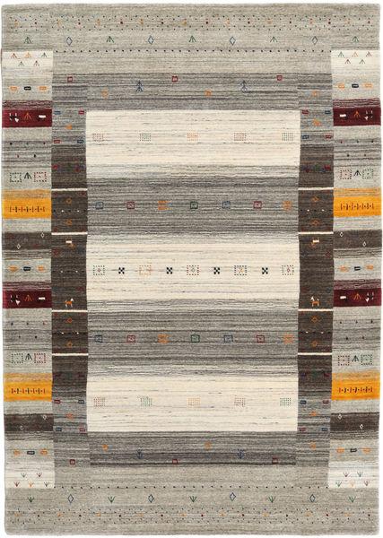Loribaf Loom Designer Rug 160X230 Authentic  Modern Handknotted Light Grey/Light Brown/Dark Grey (Wool, India)
