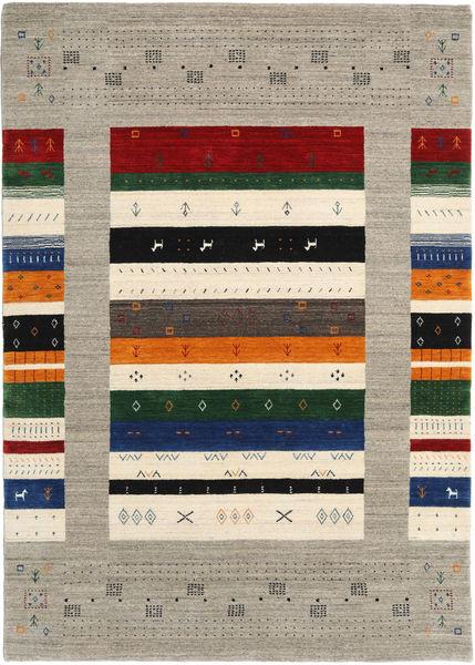 Loribaf Loom Designer Rug 160X230 Authentic  Modern Handknotted Light Grey/Beige (Wool, India)