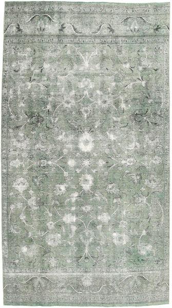 Colored Vintage Teppe 180X320 Ekte Moderne Håndknyttet Lys Grå/Mørk Grå (Ull, Persia/Iran)