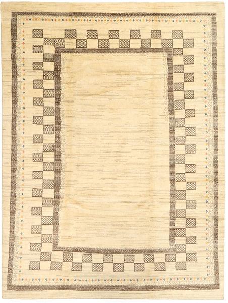 Gabbeh (Persja) Dywan 214X287 Nowoczesny Tkany Ręcznie Beżowy/Ciemnobeżowy (Wełna, Persja/Iran)