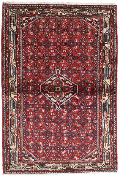 Hamadan Matto 108X160 Itämainen Käsinsolmittu Tummansininen/Musta (Villa, Persia/Iran)