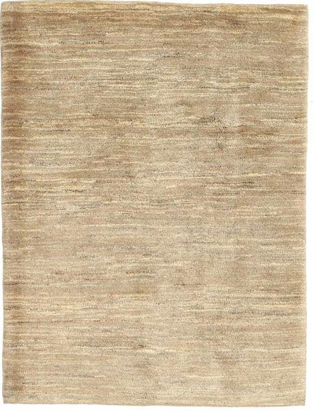 Gabbeh Persia Matto 113X149 Moderni Käsinsolmittu Vaaleanruskea/Tummanbeige (Villa, Persia/Iran)