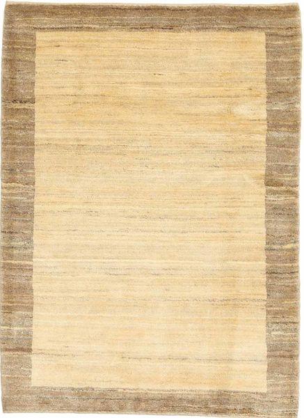 Gabbeh (Persja) Dywan 104X142 Nowoczesny Tkany Ręcznie Beżowy/Ciemnobeżowy/Jasnobrązowy (Wełna, Persja/Iran)