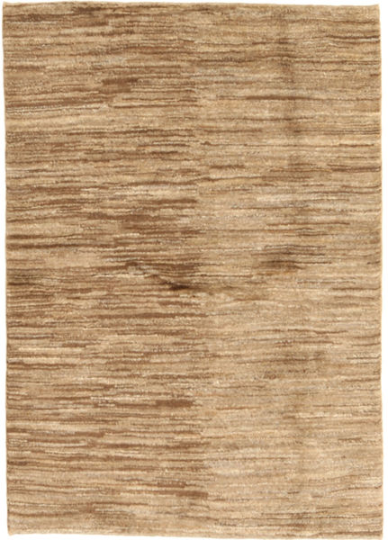 Gabbeh Persia Rug 98X141 Authentic  Modern Handknotted Light Brown/Dark Beige (Wool, Persia/Iran)