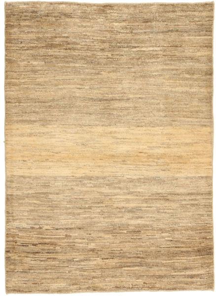 Gabbeh Persia Rug 103X141 Authentic  Modern Handknotted Light Brown/Dark Beige (Wool, Persia/Iran)