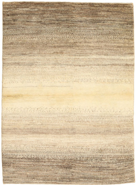 Gabbeh Persia Rug 102X143 Authentic  Modern Handknotted Light Brown/Beige (Wool, Persia/Iran)
