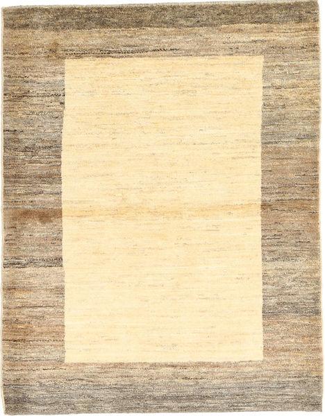 Gabbeh Perzsa Szőnyeg 110X143 Modern Csomózású Világosbarna/Sárga/Bézs (Gyapjú, Perzsia/Irán)