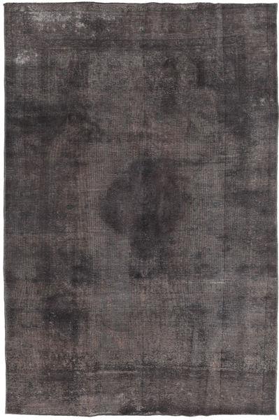 Colored Vintage Tæppe 188X285 Ægte Moderne Håndknyttet Sort/Mørkegrå (Uld, Pakistan)