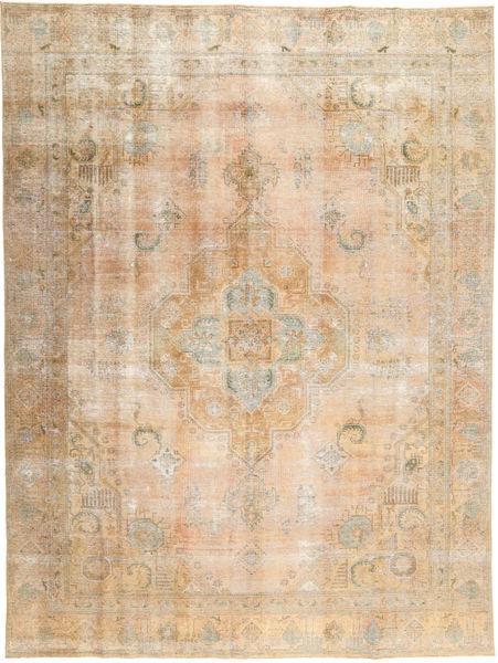 ヴィンテージ 絨毯 272X370 モダン 手織り 暗めのベージュ色の/薄茶色 大きな (ウール, パキスタン)