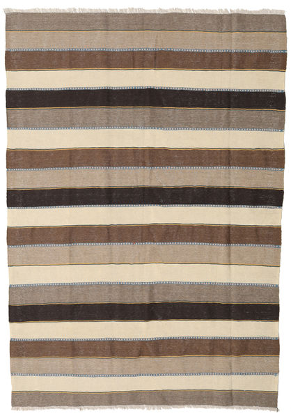 Kilim Rug 167X240 Authentic  Oriental Handwoven Light Grey/Beige (Wool, Persia/Iran)