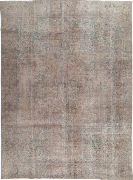 Colored Vintage Tapis 281X393 Moderne Fait Main Gris Clair Grand (Laine, Pakistan)