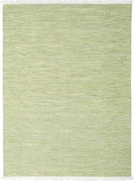 Diamond Wool - Green Rug 210X290 Authentic  Modern Handwoven Light Green (Wool, India)