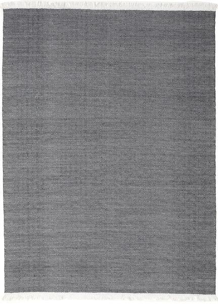Diamond Wol - Zwart tapijt CVD18374