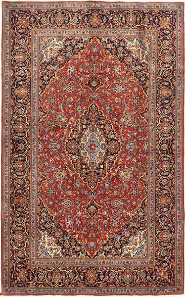 Keshan Alfombra 143X233 Oriental Hecha A Mano Rojo Oscuro/Óxido/Roja (Lana, Persia/Irán)