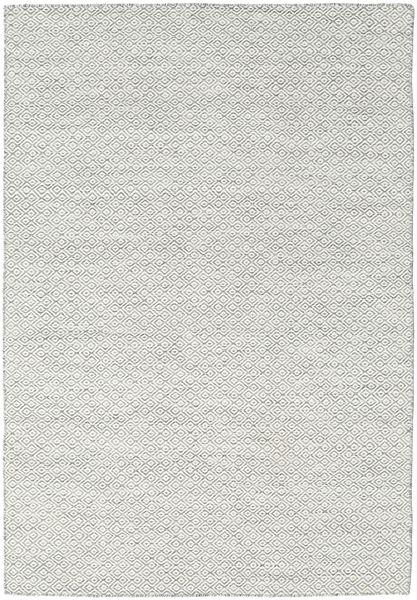 Kilim Goose Eye - Grey Rug 160X230 Authentic  Modern Handwoven Light Grey/Beige (Wool, India)