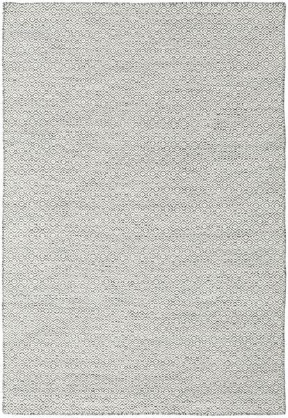 Kilim Goose Eye - Dark Grey Rug 160X230 Authentic  Modern Handwoven Beige/Light Grey (Wool, India)