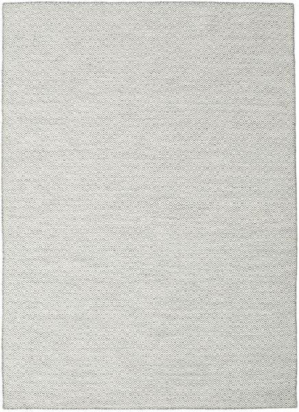 Kelim Goose Eye - Harmaa Matto 210X290 Moderni Käsinkudottu Vaaleanharmaa/Beige (Villa, Intia)