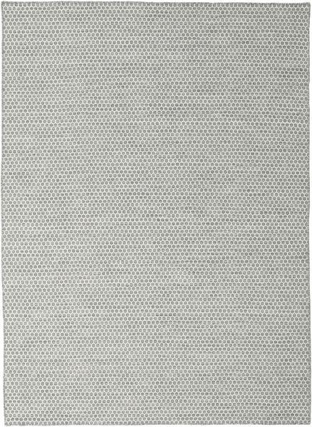 Kelim Honey Comb - Grijs tapijt CVD18720