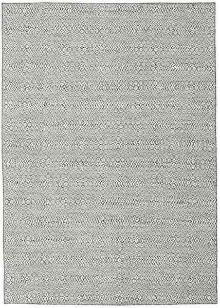 Kelim Goose Eye - Schwarz / grau Teppich CVD18885