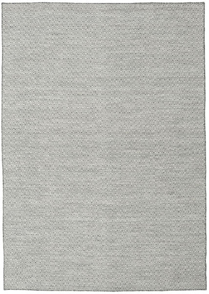 Kelim Goose Eye - Zwart / Grijs tapijt CVD18885