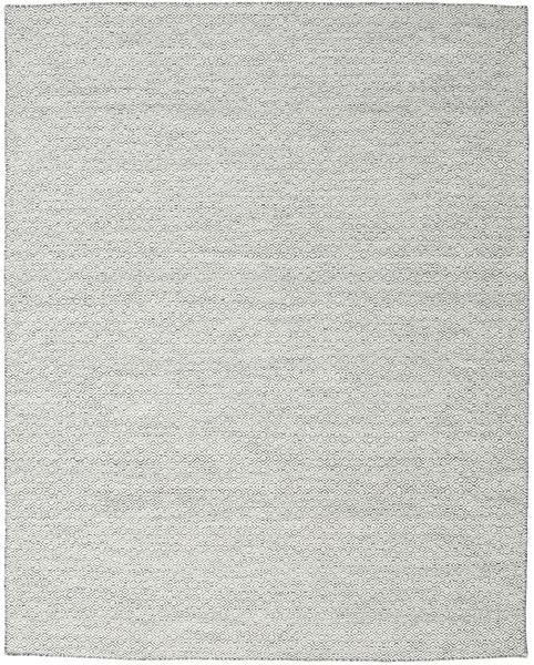 Kelim Goose Eye - Tumma Harmaa Matto 240X300 Moderni Käsinkudottu Vaaleanharmaa/Beige (Villa, Intia)