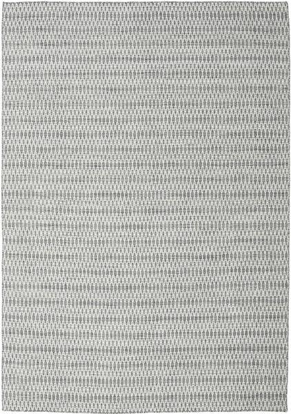 Alfombra Kilim Long Stitch - Oscuro Gris CVD18825
