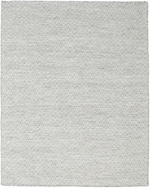 Kilim Goose Eye - Foncé Gris Tapis 190X240 Moderne Tissé À La Main Gris Clair/Beige (Laine, Inde)