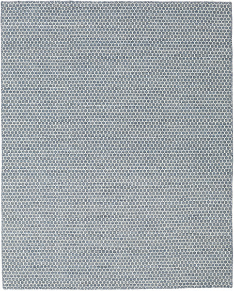 Kelim Honey Comb - Blå matta CVD18746