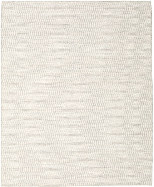 Kelim Long Stitch - Beige Matto 240X300 Moderni Käsinkudottu Tummanbeige/Beige (Villa, Intia)