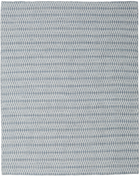 Kilim Long Stitch - Blue Rug 240X300 Authentic  Modern Handwoven Light Grey/Light Blue (Wool, India)