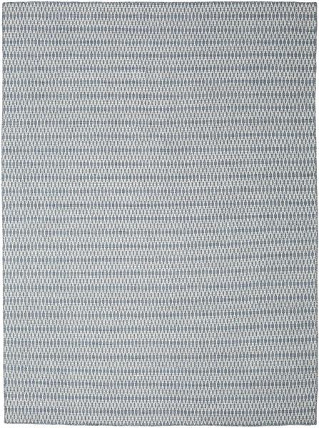 Kilim Long Stitch - Blue Rug 290X390 Authentic  Modern Handwoven Light Grey/Light Blue Large (Wool, India)