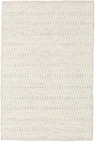 Kilim Long Stitch - Beige Tapis 120X180 Moderne Tissé À La Main Beige/Gris Clair (Laine, Inde)