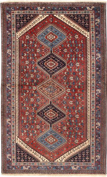 Yalameh Matto 159X266 Itämainen Käsinsolmittu Tummanpunainen/Tummansininen (Villa, Persia/Iran)