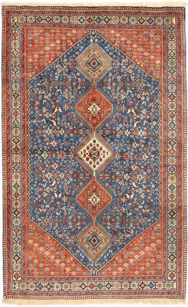 Yalameh Matto 160X263 Itämainen Käsinsolmittu Vaaleanruskea/Tummanharmaa (Villa, Persia/Iran)