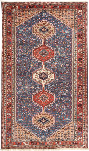 Yalameh Matto 157X270 Itämainen Käsinsolmittu Ruskea/Tummanharmaa (Villa, Persia/Iran)