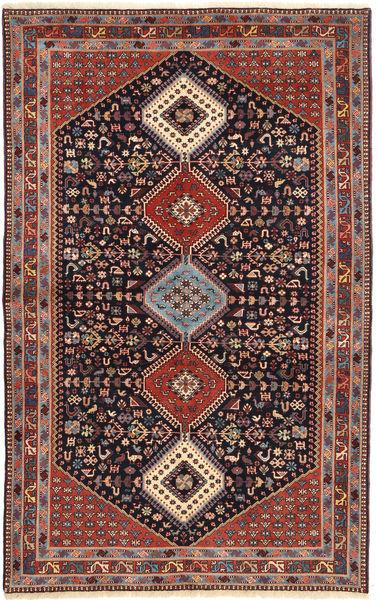 Yalameh Matto 164X265 Itämainen Käsinsolmittu Tummanpunainen/Ruskea (Villa, Persia/Iran)