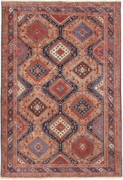 Yalameh Dywan 167X248 Orientalny Tkany Ręcznie Brązowy/Jasnobrązowy (Wełna, Persja/Iran)
