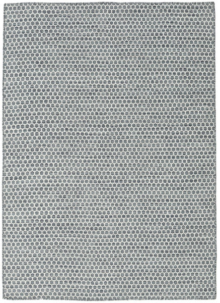Tappeto Kilim Honey Comb - Scuro Grigio CVD18761