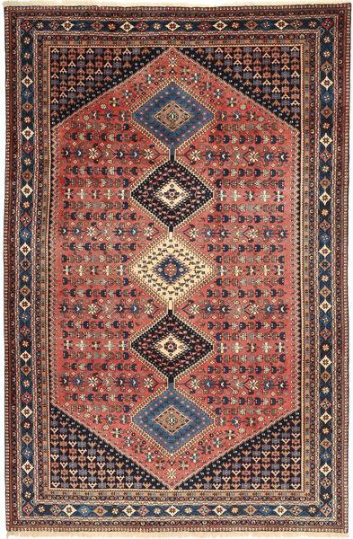 Yalameh Teppe 203X310 Ekte Orientalsk Håndknyttet Brun/Lysbrun (Ull, Persia/Iran)