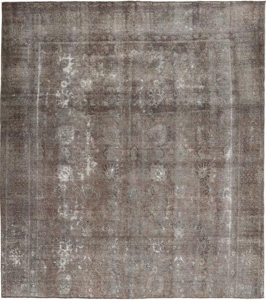 カラード ヴィンテージ 絨毯 291X325 モダン 手織り 薄い灰色/濃いグレー 大きな (ウール, パキスタン)