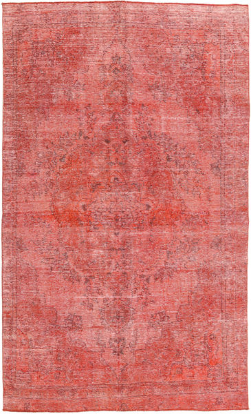 Colored Vintage Rug 178X296 Authentic  Modern Handknotted Light Pink/Rust Red (Wool, Pakistan)