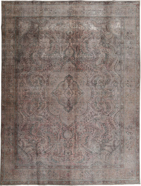 Colored Vintage Rug 294X384 Authentic  Modern Handknotted Dark Grey/Light Grey Large (Wool, Pakistan)