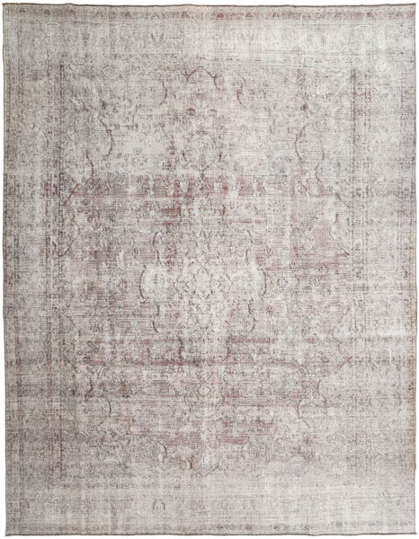 Colored Vintage Rug 283X362 Authentic  Modern Handknotted Light Grey/Dark Grey Large (Wool, Pakistan)