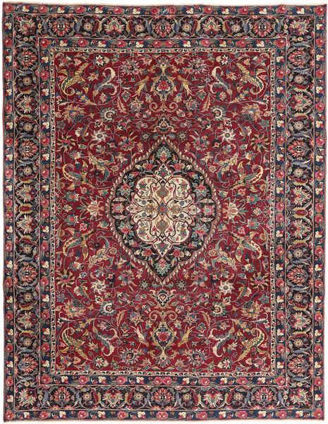 Mashad Patina Matto 253X330 Itämainen Käsinsolmittu Tummanpunainen/Tummanruskea Isot (Villa, Persia/Iran)