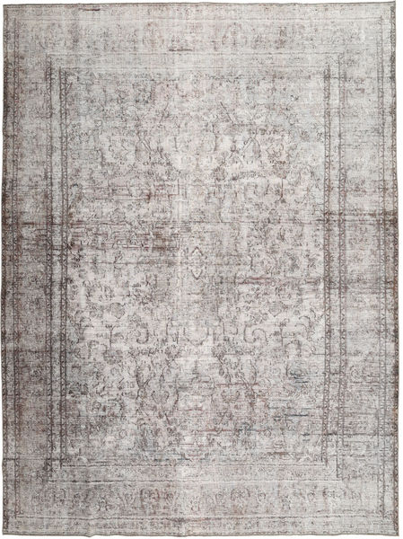 Colored Vintage Rug 290X380 Authentic  Modern Handknotted Light Grey Large (Wool, Pakistan)