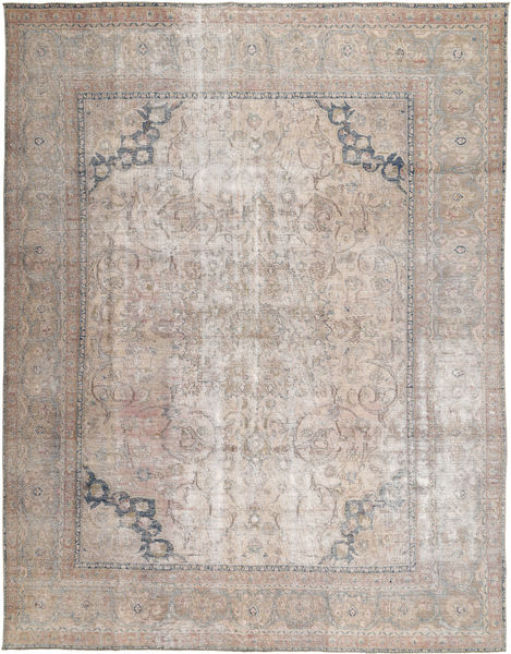 Vintage Rug 290X371 Authentic  Modern Handknotted Light Grey Large (Wool, Pakistan)